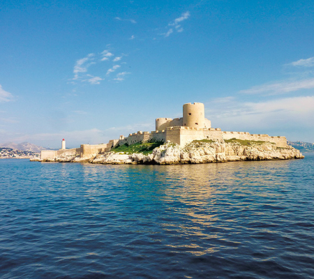 If Castle & Bay of Marseille
